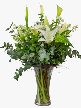Arrangements: Serenity Vase Arrangement