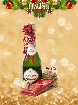 Snack & Gift Hampers: Festive Bubbles