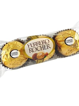 Chocolates and Sweets: Ferrero Rocher (3 Balls)